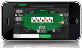 Screenshot of Betonline poker app